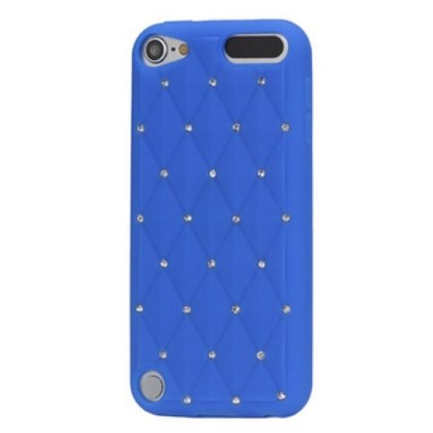 iPod Touch 5 - Glittering Starry Rhinestones on Soft Case  Item 1381  - Specialty: Delicate glowing bling design to dress up your hand!  Features:  - Soft silicone material,  so flexible offers an incredible comfortable feel - Delicate design with many rhinestones coated on the back c