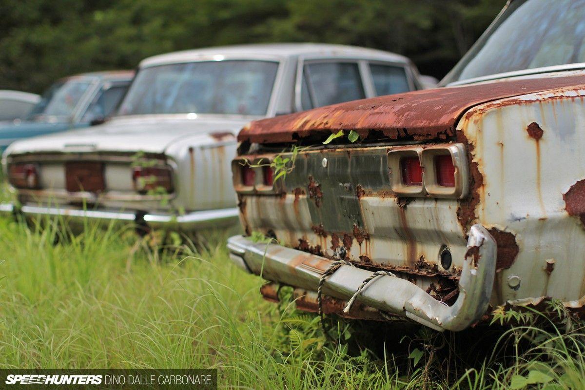 Kyusha Cemetery Where Old Jdm Cars Go To Die Speedhunters Datsun Car Jdm Jdm Cars