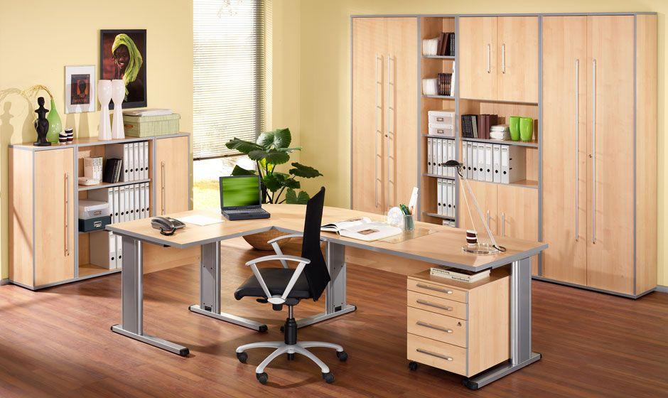 Büromöbel MOXXO Ahorn-Dekor von Schäfer Shop | Büromöbel MOXXO von ...