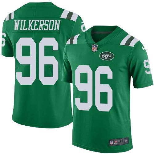Nike Jets  96 Muhammad Wilkerson Green Youth Stitched NFL Elite Rush Jersey  And nfl jersey online shop legit 10c3da5c9