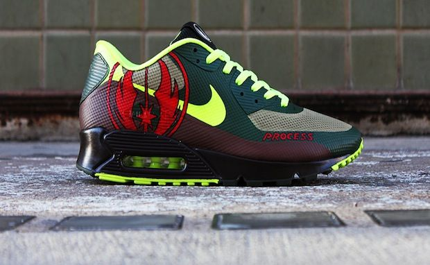 los angeles 4e044 5df3c NIKE AIR MAX 90 HYPERFUSE  JEDI  CUSTOM   sneakers   Pinterest   Air max 90  hyperfuse, Air max 90 and Air max