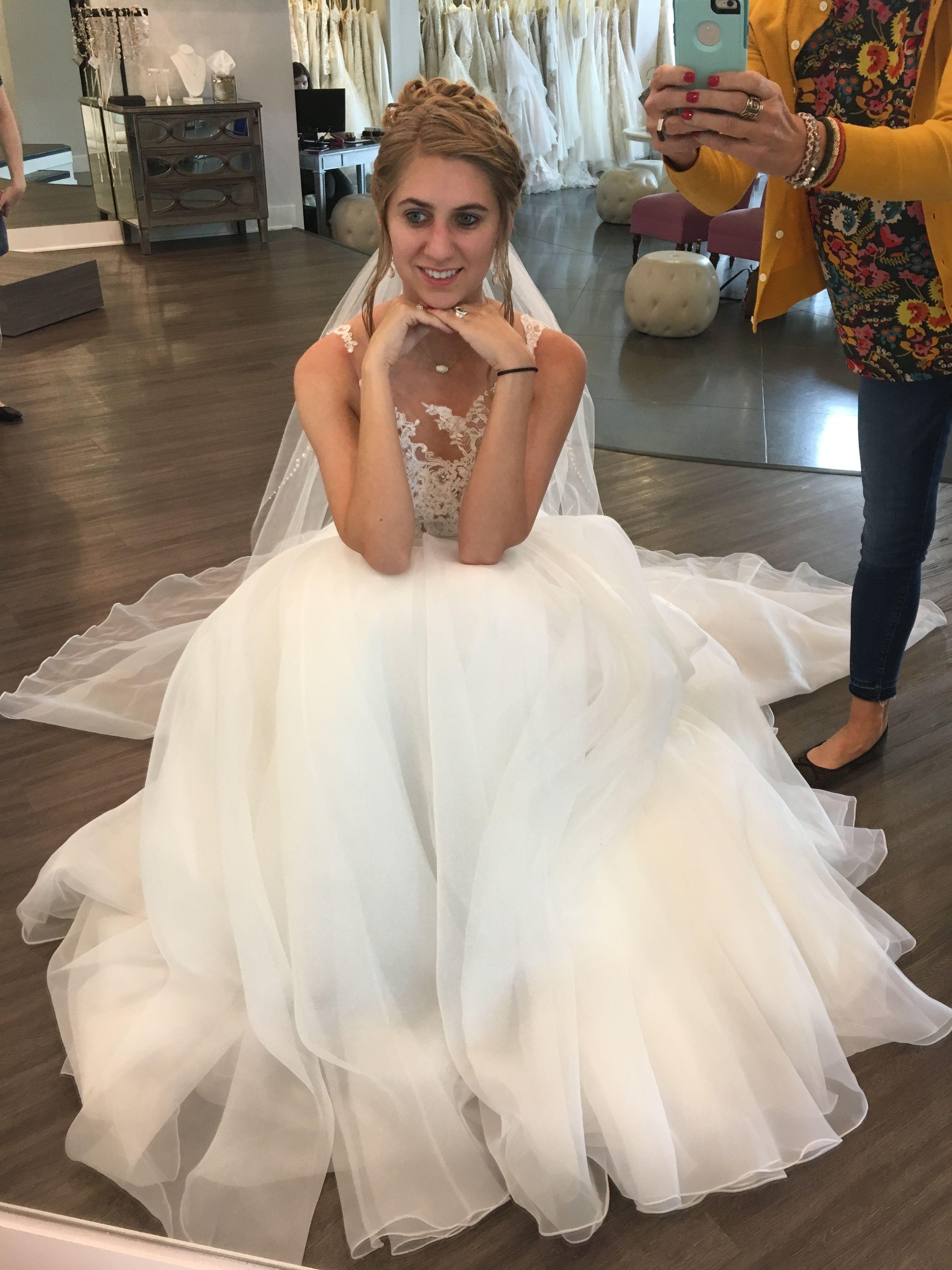 Randy fenoli wedding dresses  Pin by Carly Gipson on Wedding party hair  Pinterest  Wedding