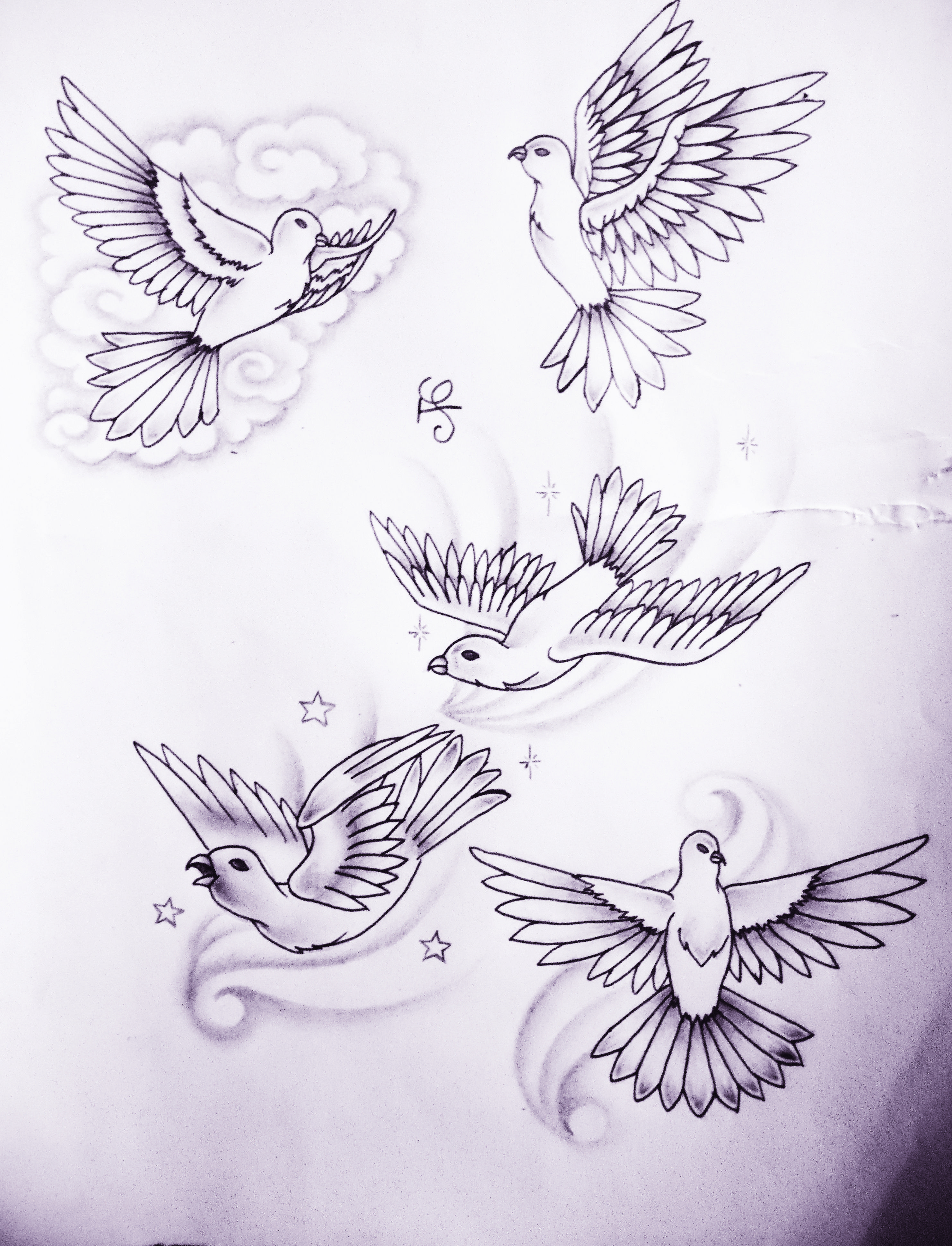 Image Result For Dove Tattoo Draws Pinterest Dove Tattoos
