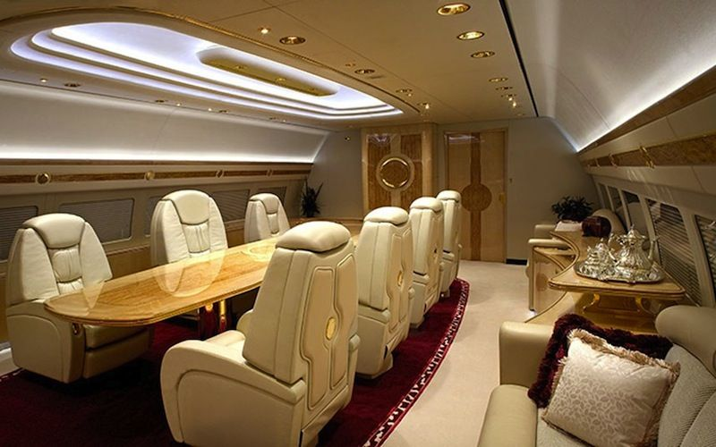 Superb The Sexiest, Most Luxurious Private Jet Interiors (Photos)