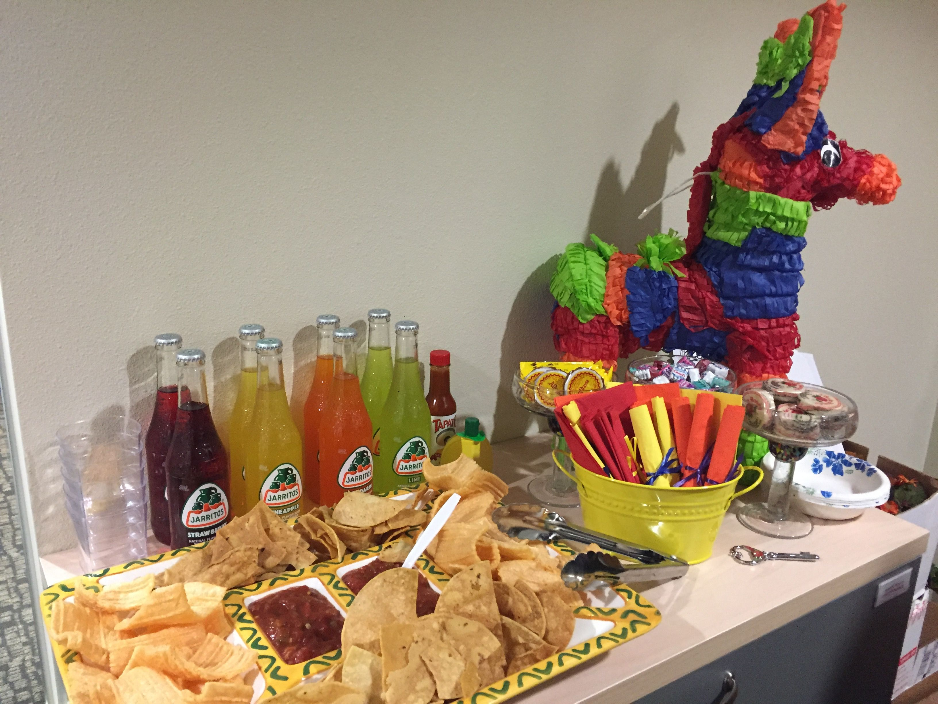 Mini Fiesta For Small Office Party Office Parties Party Fiesta