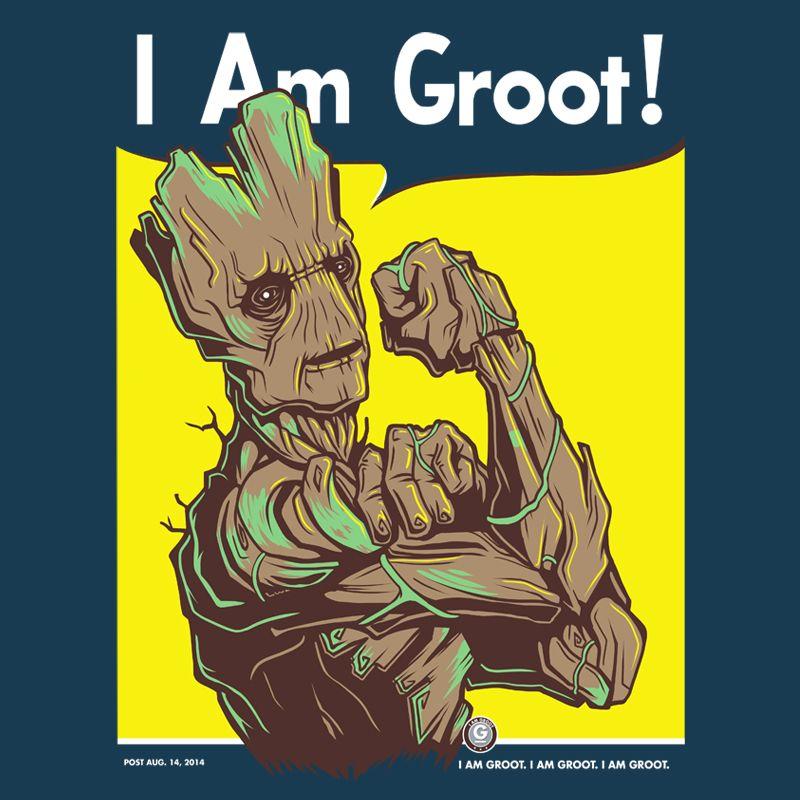 I am Groot! by LuluDubYou.deviantart.com on @DeviantArt
