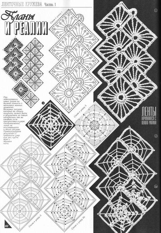 Яндекс.Фотки | crochet | Pinterest | Patrones, Mesas y Tejido