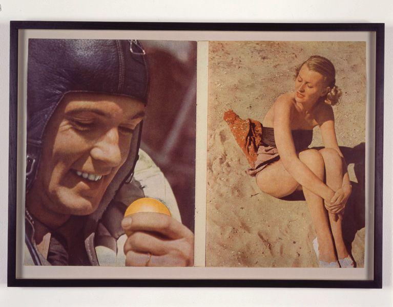 Images : Christian Boltanski, Signal, 1992, collage, 43,18 x 58,42 x 2,54 cm, reproduite avec l'aimable permission de Marian Goodman Gallery, New York/Paris, photo : Tom Powel. © Christian Boltanski / SODRAC (2009)