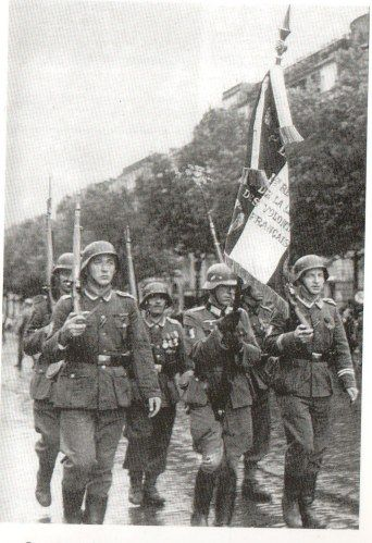 Drapeau de la division ss charlemagne french volunteers - French div 2 ...