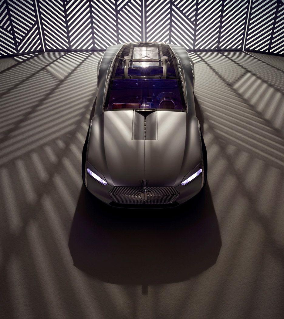 Renault Concept Car: Le Corbusier Concept Car By Renault