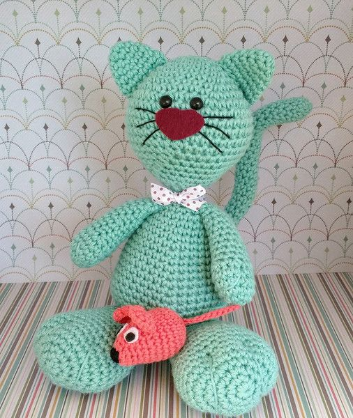 Valentín+el+gato+de+Rosebud+por+DaWanda.com