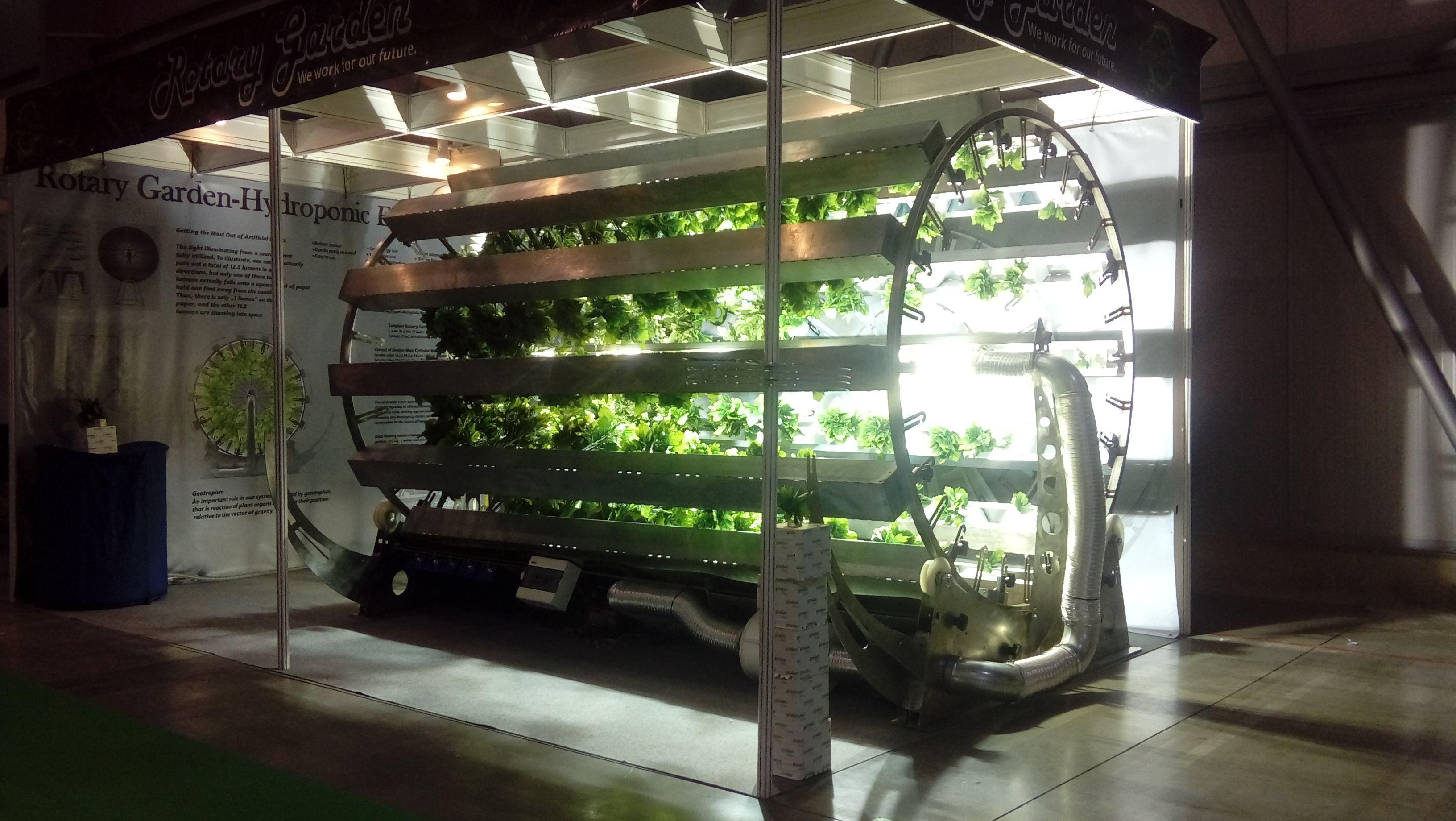 Garage rotary garden AGT VZW