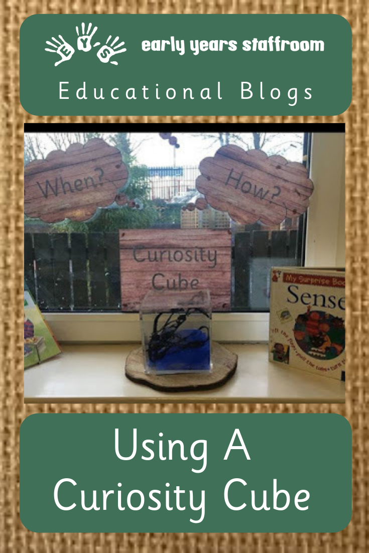 Using A Curiosity Cube - Early Years Blog