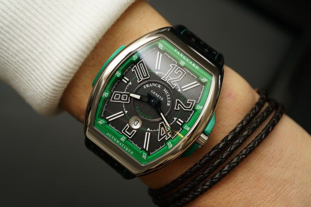 Franck Muller Vanguard Racing V 45 SC DT Watch HandsOn