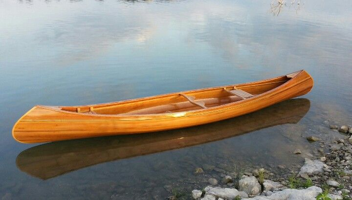 Cedar Canoe First Time On The Water
