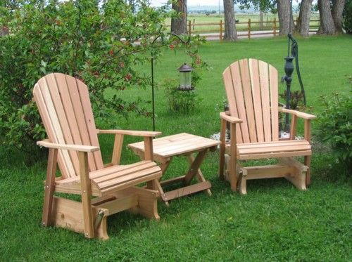 Amish Outdoor Rocker Gliders | Amish, Glider, Cedar, Furniture, Lawn  Furniture,