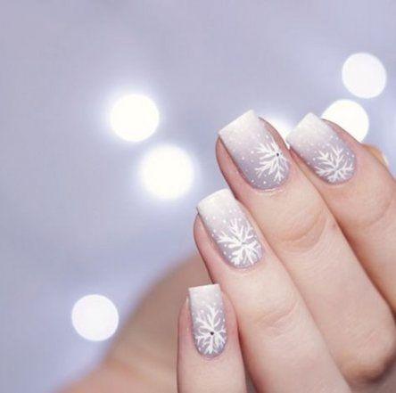trendy nails art winter christmas 60 ideas  christmas