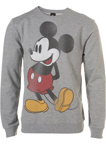 Mickey Mouse Ear Hoodie Jacket