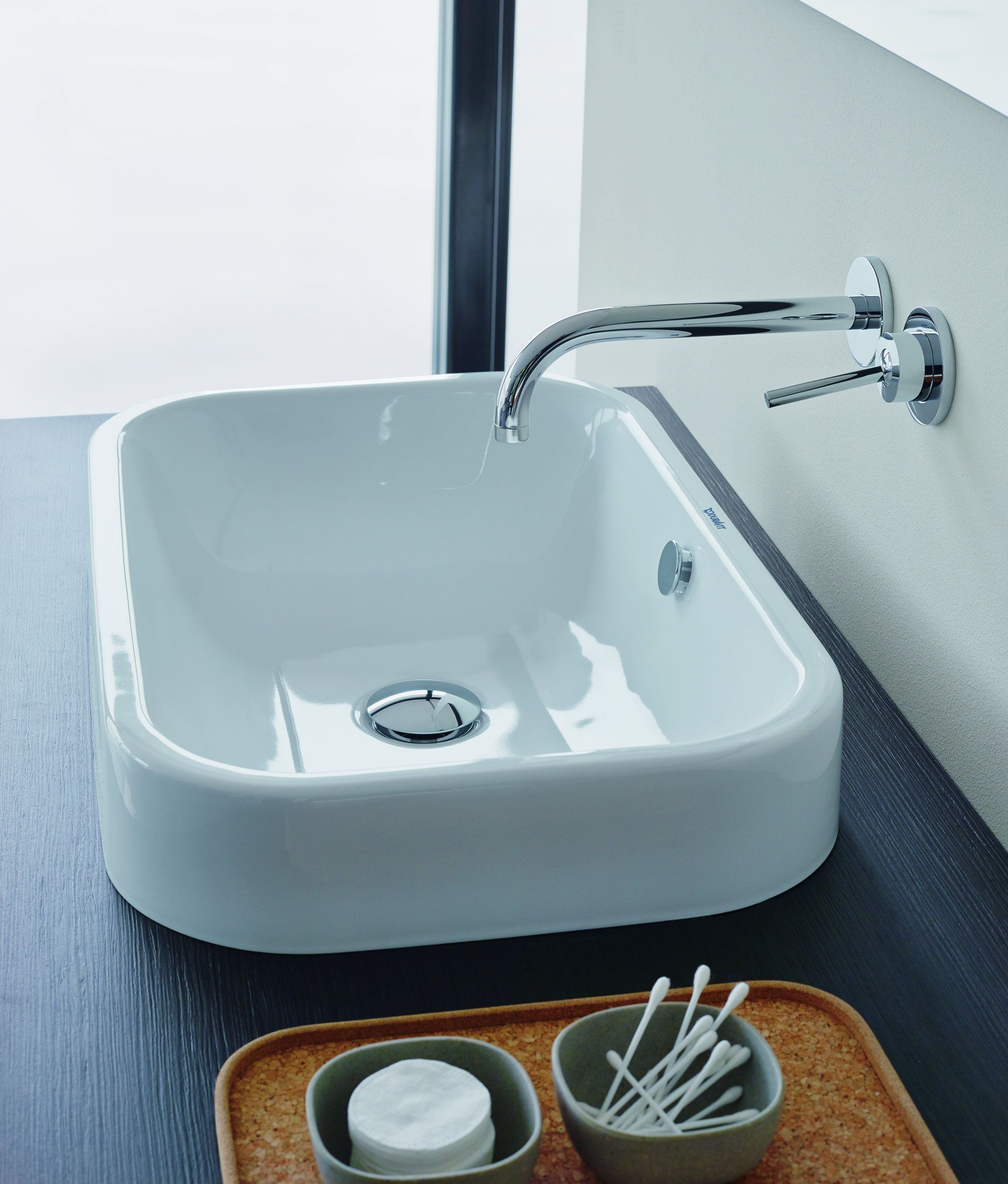 Happy D.2 sit on basin on console   Baths / Bathrooms   Pinterest ...