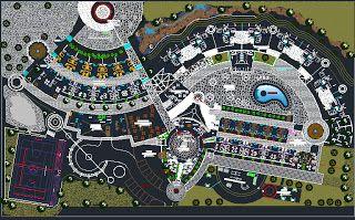Plan Autocad Dun Hotel Hôtels Plan Autocad Autocad Et Plan Masse