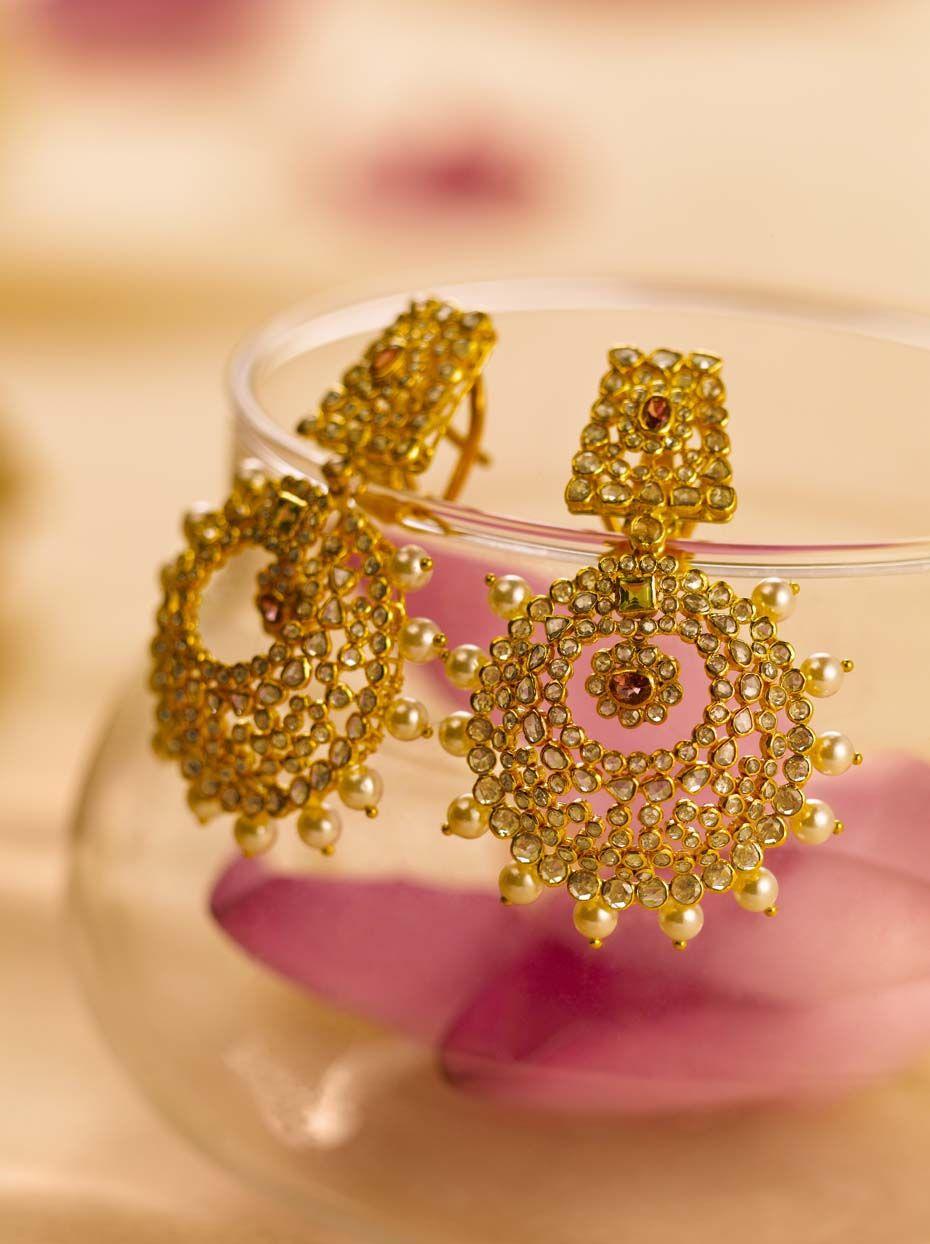 Tanishq jewellery pinterest indian earrings