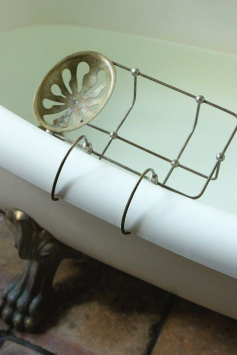 Bath tub soap holder - old- antique. | ANTIQUES & OLD THINGS - 374 ...