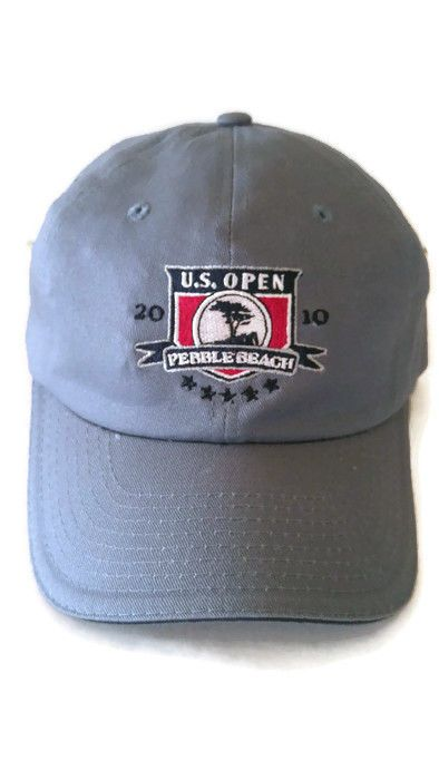 2010 Us Open Championship Pebble Beach Golf Links Usga Cap Hat Graeme Mcdowell