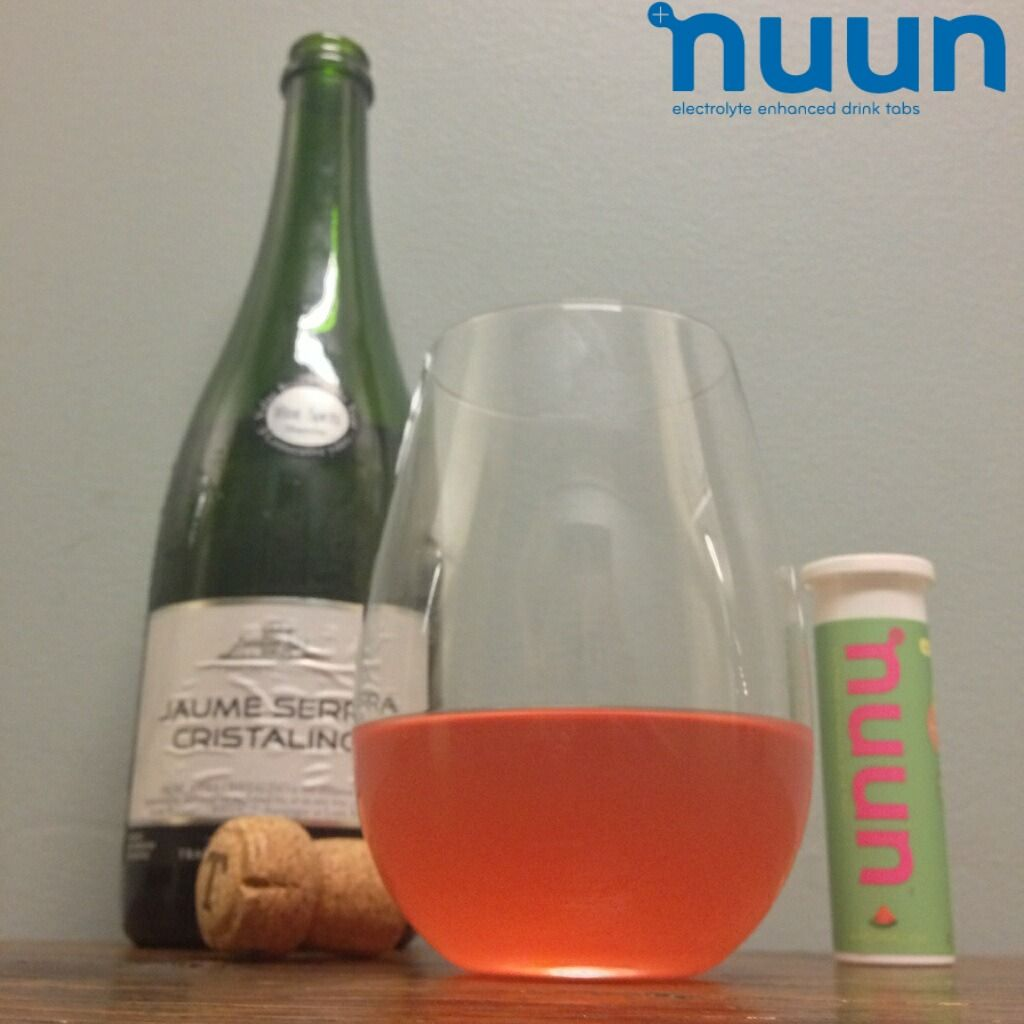 Nuuntini Recipe Watermelon Champagne 6 Oz Champagne 1 Tab Nuun Active Watermelon Drinks Alcoholic Drinks Wine Bottle