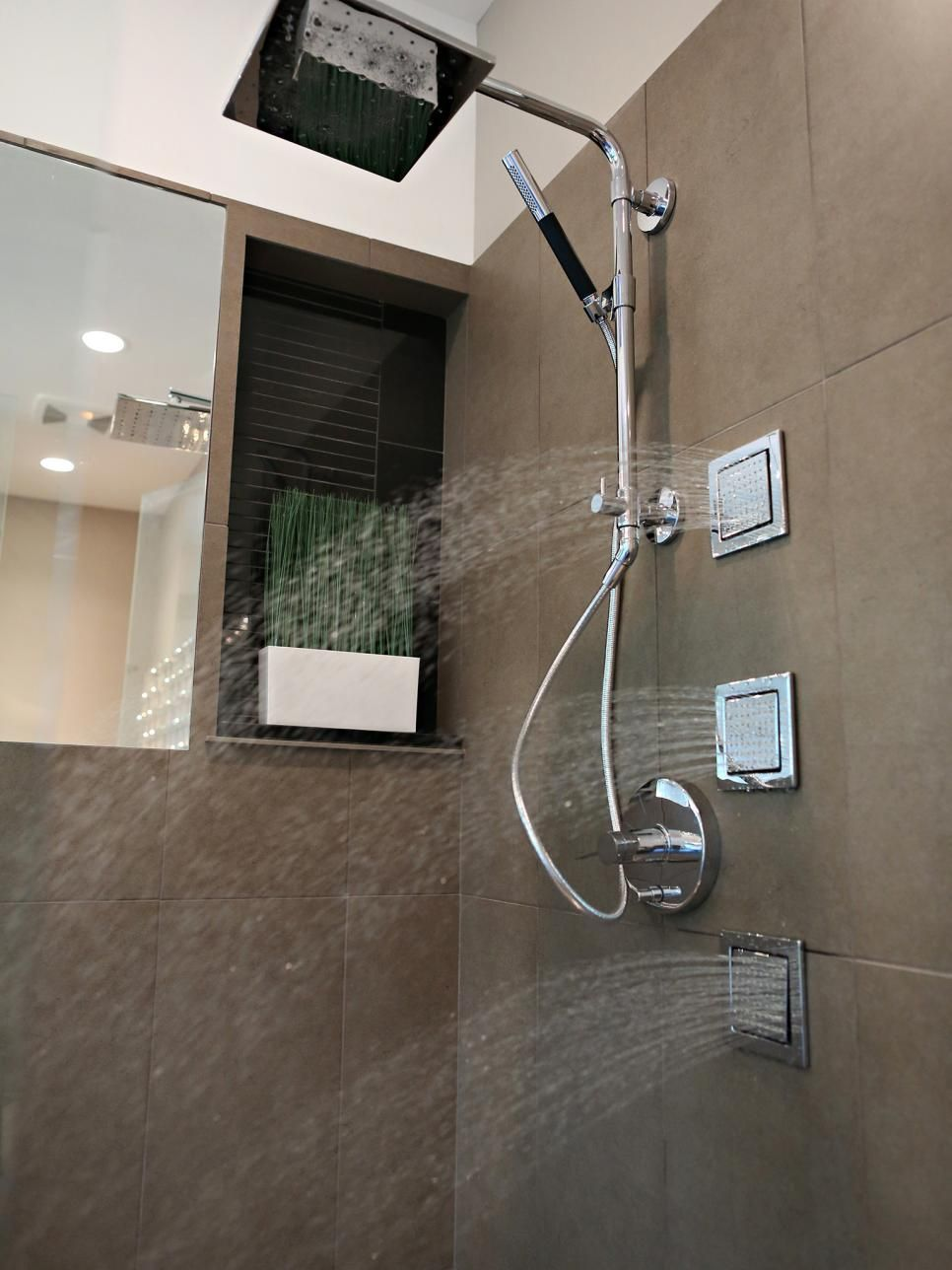 This Kohler Standup Shower Features Three Body Sprayers And One