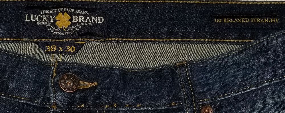 NWT MEN/'S LUCKY BRAND JEANS 181 Multiple Sizes Big /& Tall Relaxed Straight