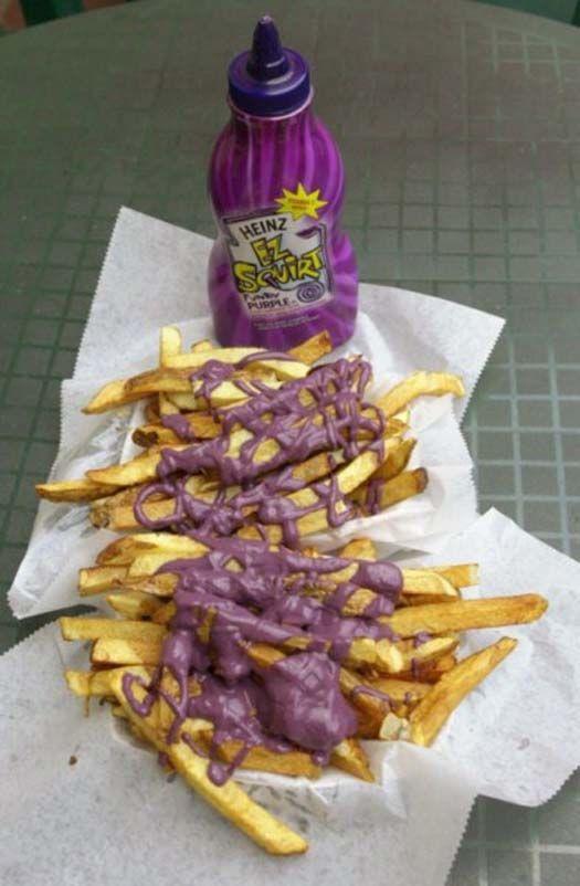 Ketchup On Weird Food 11