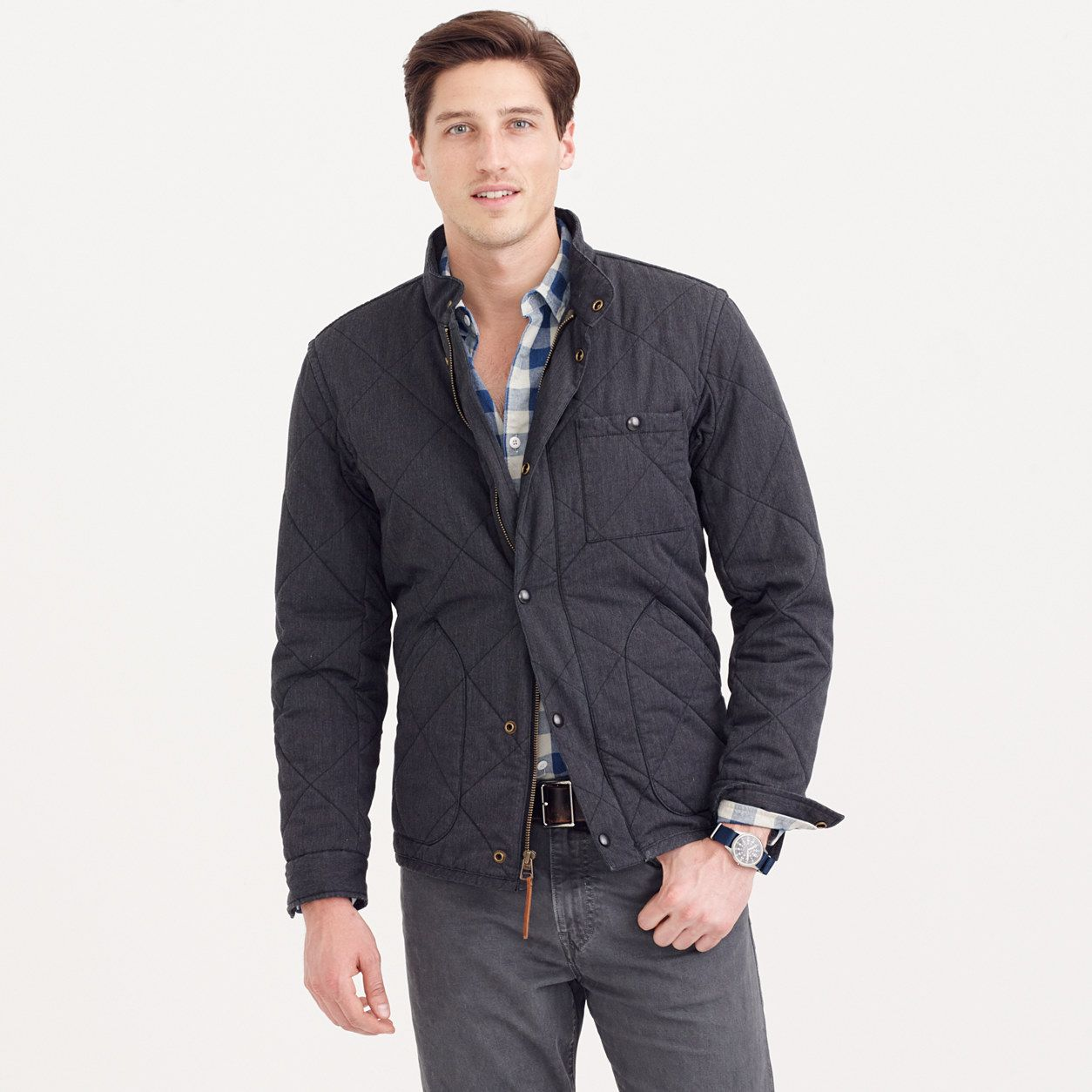 Sussex Quilted Jacket Sussex J Crew
