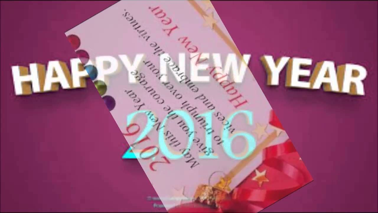 Best Wishes For New Year 2016 Friends Messagesmusical Wishes