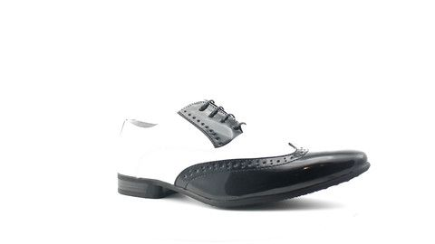 558-19 BlackWhite – MAHER Shoes