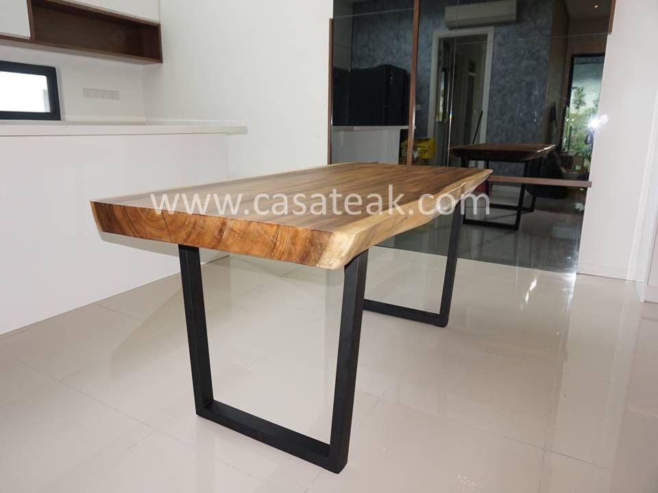 Pin On Suar Wood Dining Table Malaysia