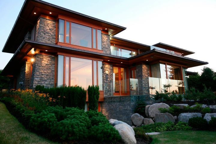 A home designed by John Henshaw Architect Inc This home won Gold at