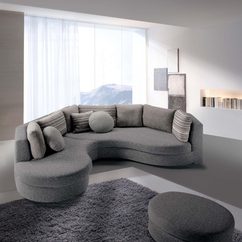 Divano angolare curvo ravel interior pinterest prezzo and interiors - Divano angolare poltrone e sofa ...