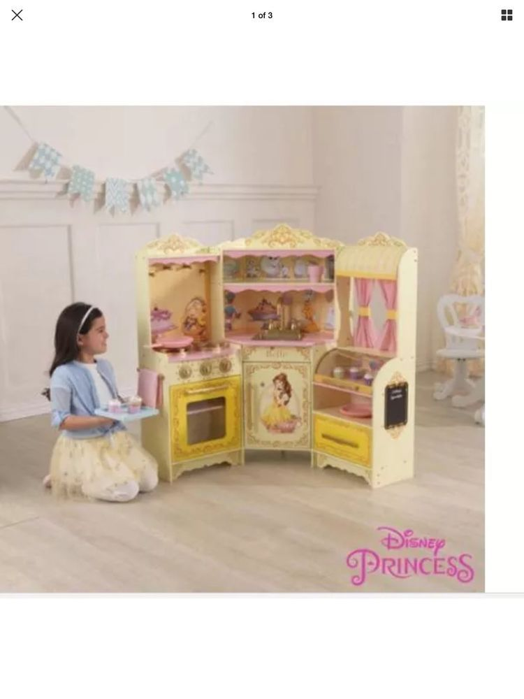 Disney Princess Belle Pastry Kitchen Beauty And The Beast Child