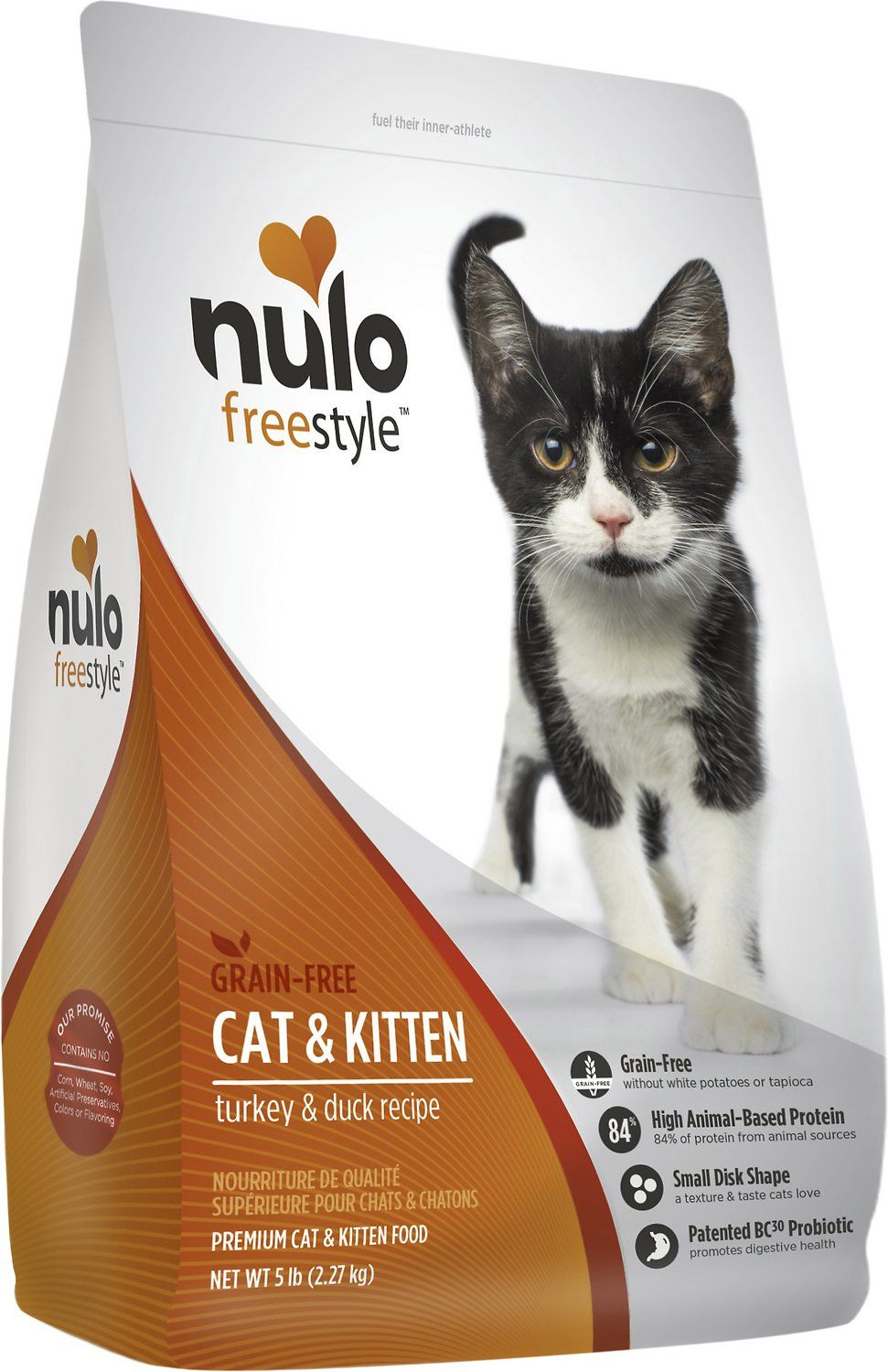 Nulo FreeStyle knows that our feline friends require