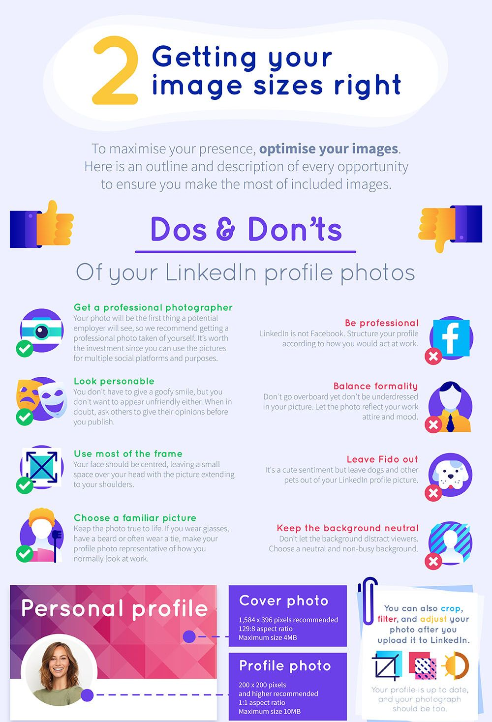 The Ultimate LinkedIn Cheat Sheet (With images) Resume