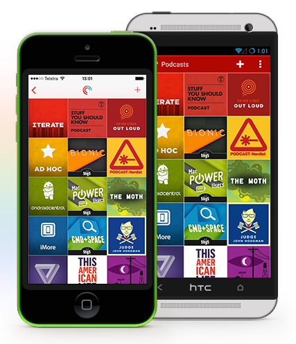 Top 10 Podcast Apps (With images) Iphone apps, Mobile