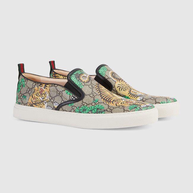 c4c4c0427bcc baskets sans lacets Gucci Bengal   Le soulier   Pinterest   Shoes ...