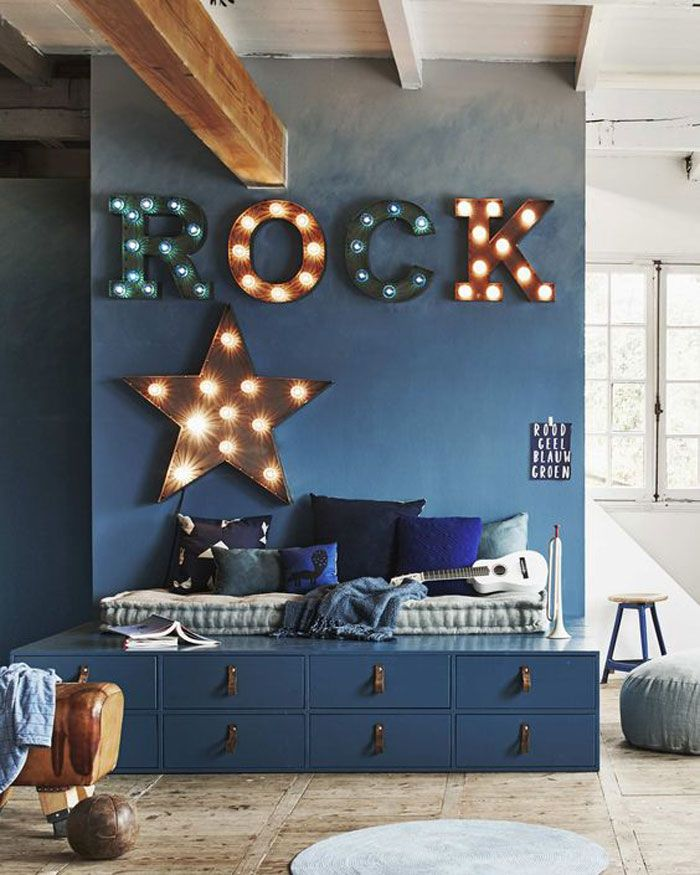Instruments and Music Decor in Kids' Rooms