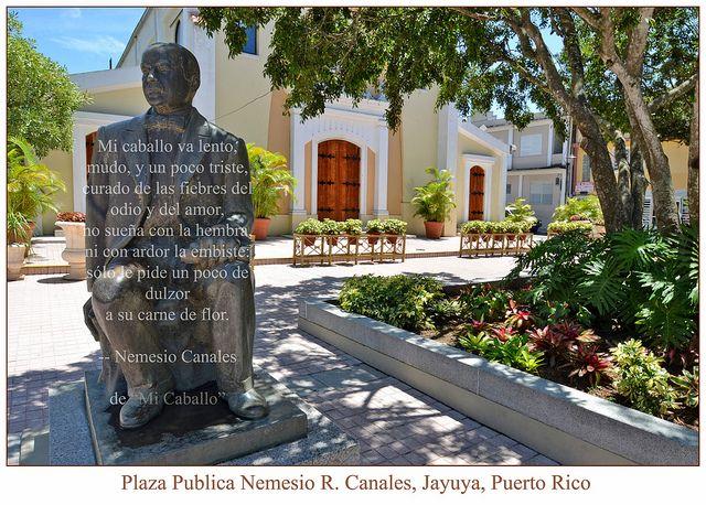 Plaza Publica Nemesio R Canales, Jayuya, PR
