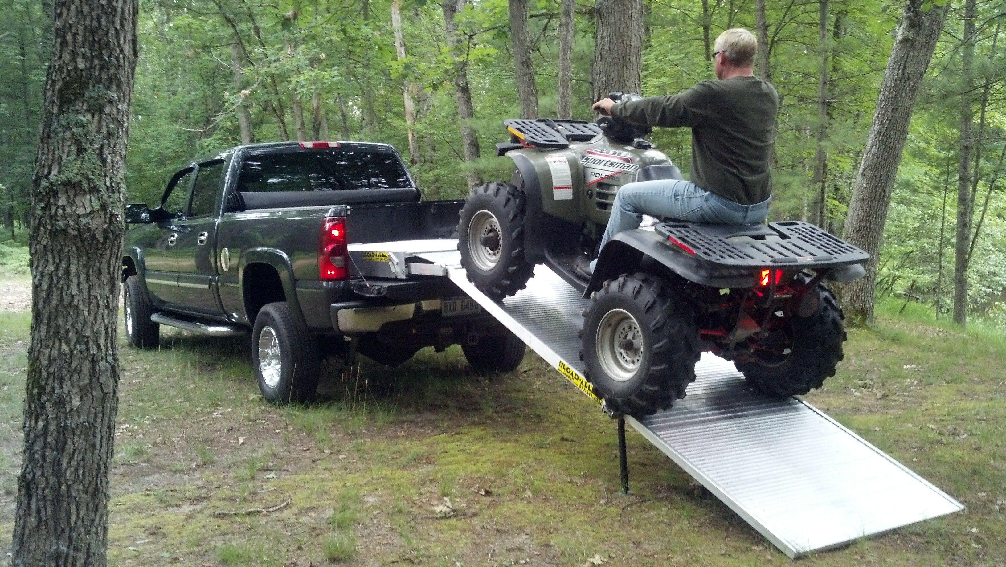 Loading a Polaris ATV made easy with a LoadAll V3
