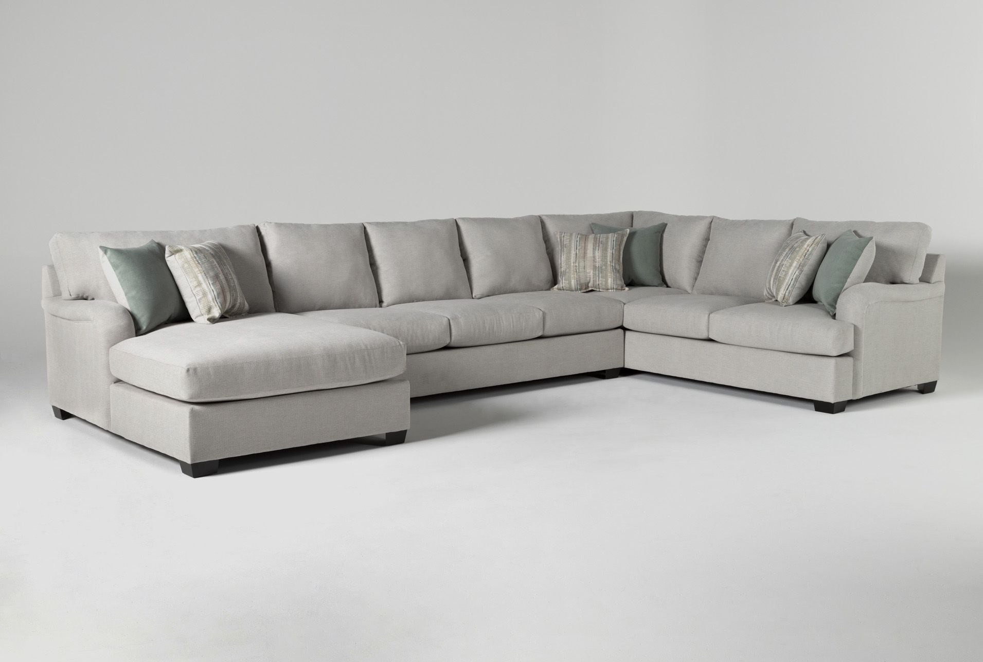 Jenner 3 Piece Sectional Sofa With Left Arm Facing Chaise