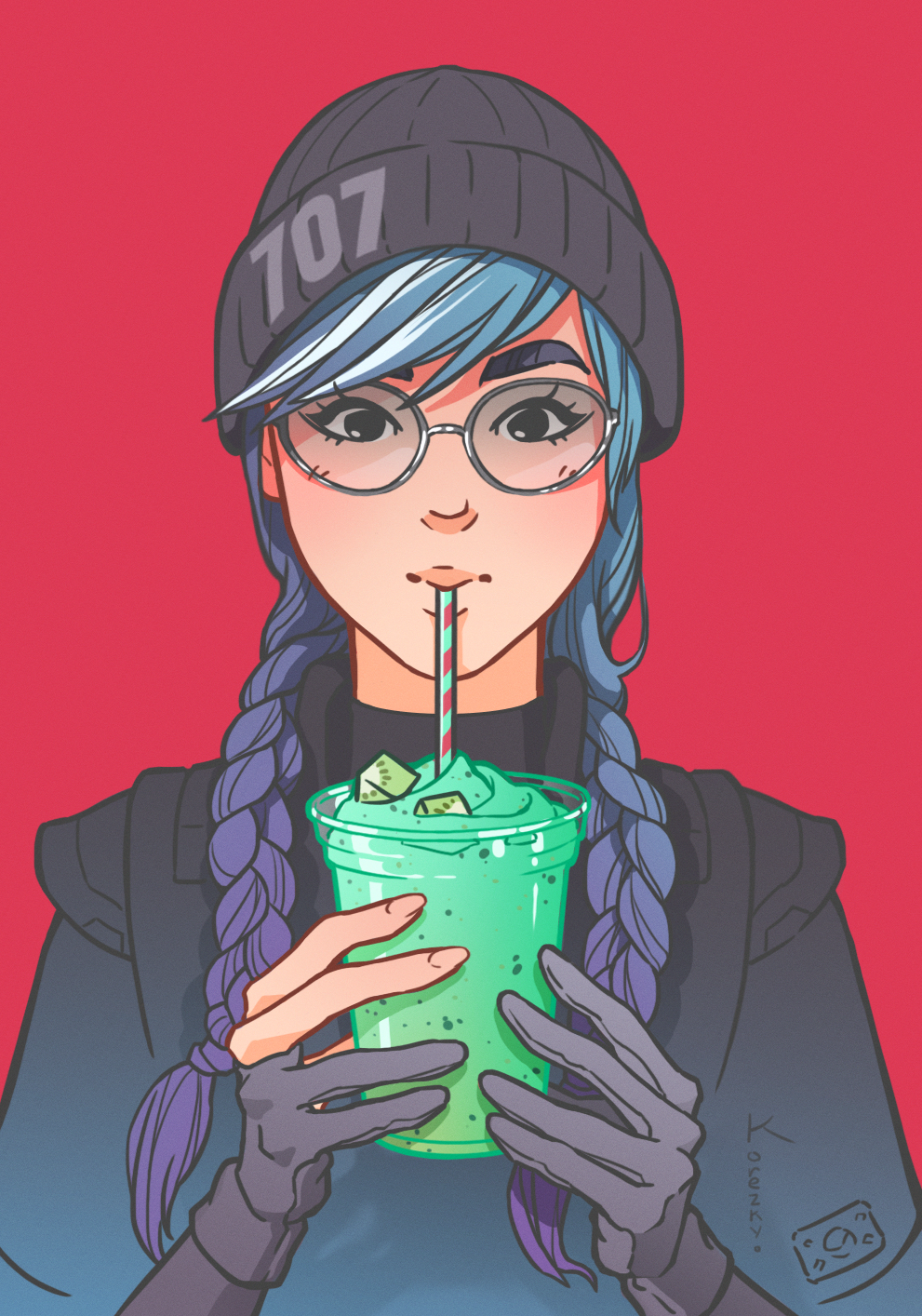 Dokkaebi fan art by Korezky vdeogamedesignerjobs