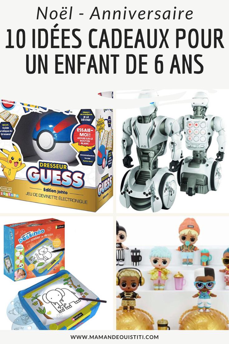 10 idées cadeaux pour un enfant de 6 ans - Noël et anniversaire Wish list et sélection de jouets ...