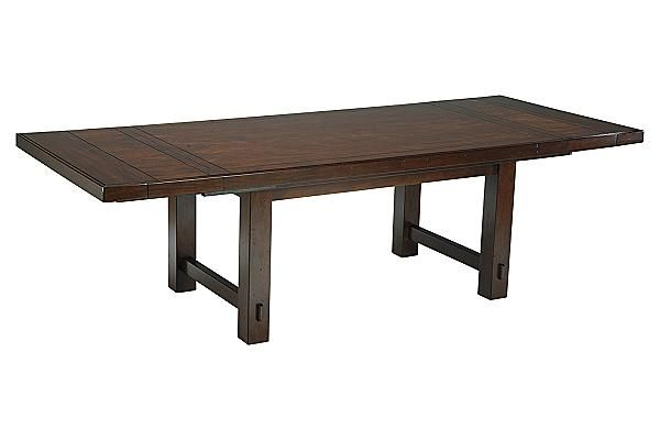 The Hindell Park Extension Dining Table From Ashley Furniture Homestore Afhs Com The Timeless Beauty Of Vintage Dining Room Table Dining Table Design Dining