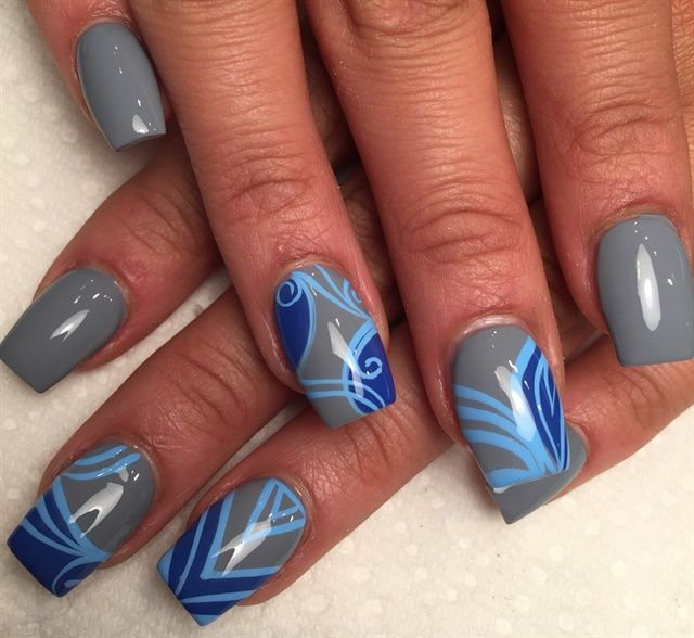 multi color nails💫 #nails #vsco in 2020 | Dream nails